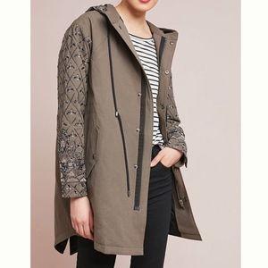 Anthropoligie Seen Worn Kept Embellished Jacket 8